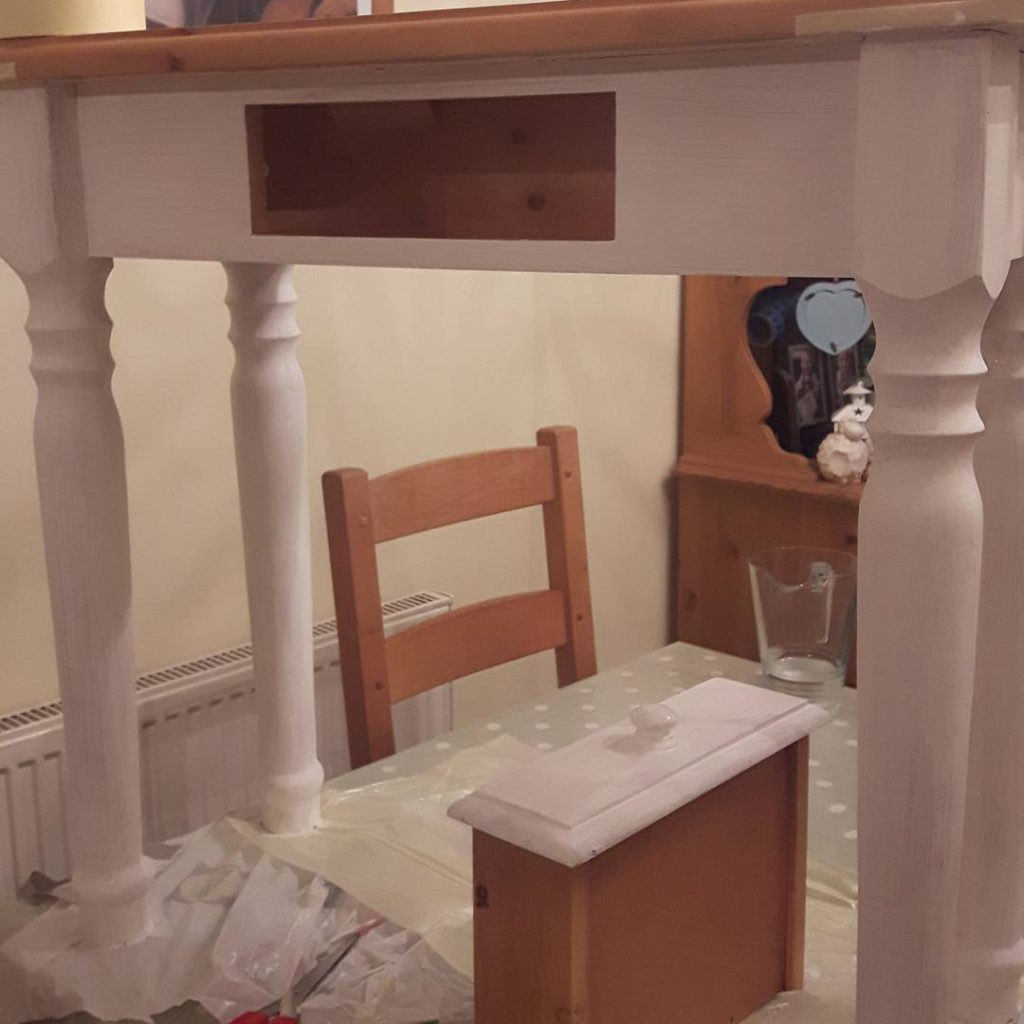 How To Remove Chalk Paint From Gl